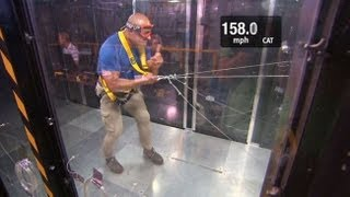 Jim Cantore vs. Category 5 Winds
