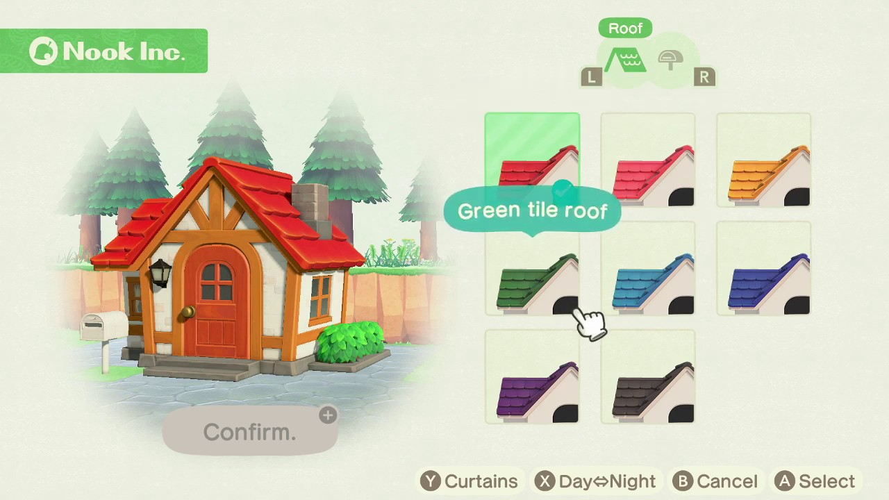 How To Change The Color Of Your House Roof And Mailbox In Animal Crossing New Horizons Youtube