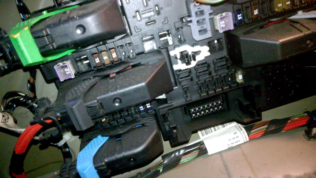 Astra H Mk5 Fuse Box Location