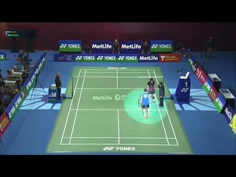 Yonex Sunrise Hong Kong Open 2015 | Badminton SF M2-MS | Lee Chong Wei vs Ng Ka Long Angus