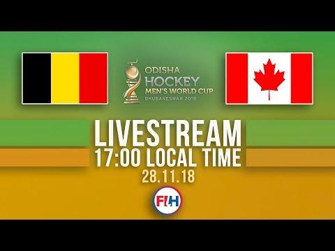 Belgium v Canada | 2018 Men's Hockey World Cup | FULL MATCH LIVESTREAM