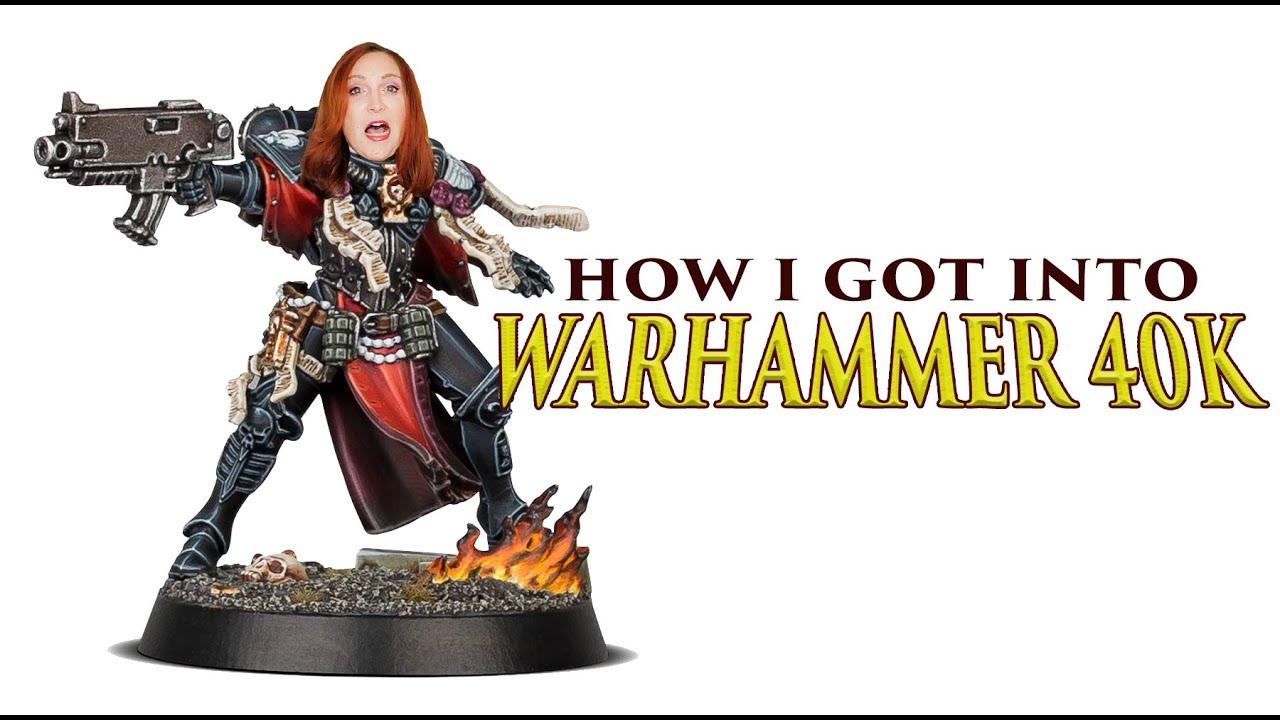 Slaanesh Girl and How She Got Into Warhammer 40K