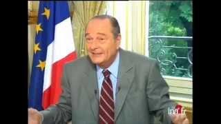Jacques Chirac elles font pschitt