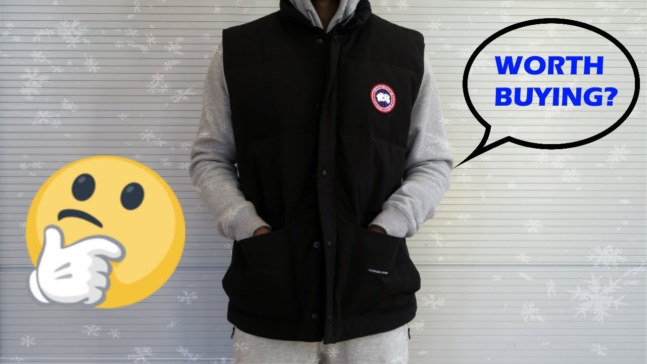 ef3c0f2ab329 Canada Goose Freestyle Vest Fit Review - YouTube