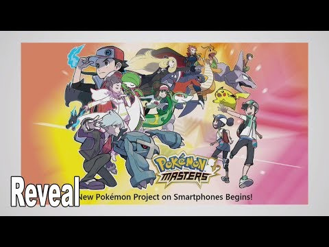 Pokémon Masters - Reveal [HD 1080P]