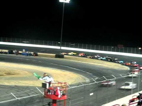 NASCAR Camping World West Series 2-Car Crash @ Altamont Raceway Park 9/13/08