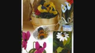 Вязание крючком. Как связать цветы.