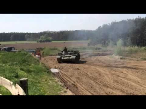 Tank driving Berlin