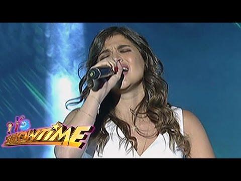Anne Curtis sings