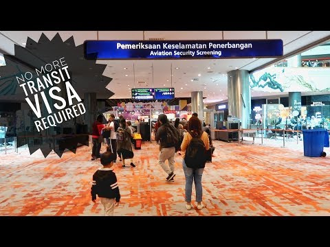 What Is Transit Visa? KLIA2