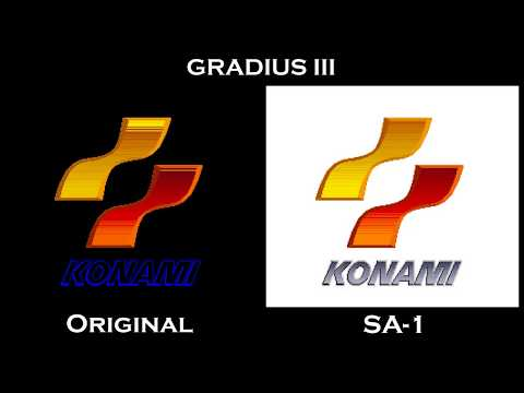 Gradius III (SNES) - Original x SA-1 Comparison