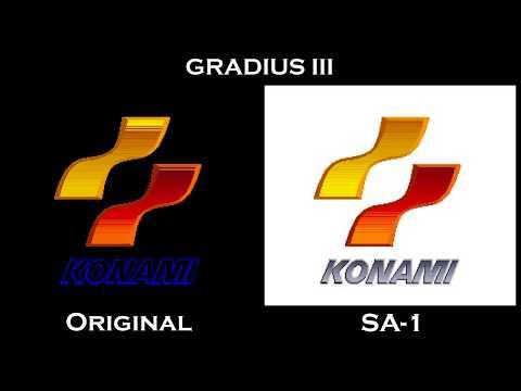 Gradius III (SNES) - Original x SA-1 Comparison