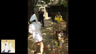 Piñata - Smashing the bird!