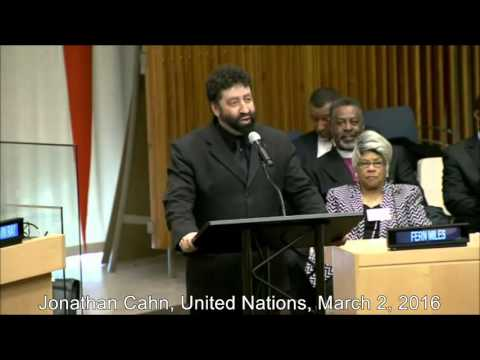 Jonathan Cahn's powerful 2nd speech at the UN on March 2, 2016