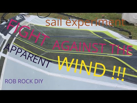 EXPERIMENTAL WINDSURF SAIL !!!
