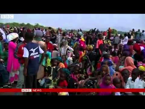 BBC News   CAR conflict  Hundreds try to leave for Chad