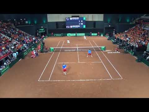 Davis Cup 2017 playoff The Netherlands vs Czech Republic Haase/Middelkoop vs Jebavy/Pavlasek