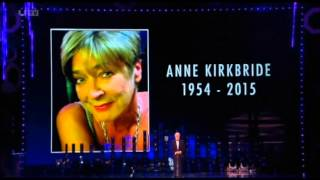 Anne Kirkbride (Deirdre Barlow) Tribute @ The NTA Awards (FULL)