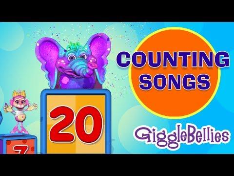 Counting Songs & Nursery Rhymes | Learning Songs | GiggleBellies