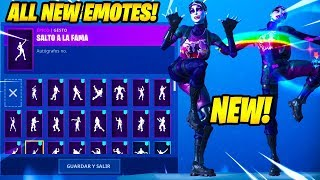 """DARK BOMBER"" SKIN SHOWCASE AVEC 80 FORTNITE DANCES - EMOTES..!!"