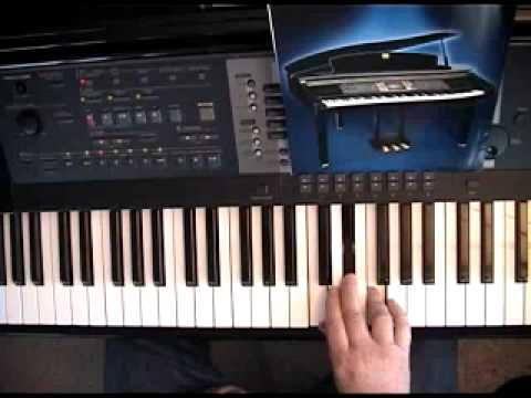 The Blues Scale For Use With Piano Chord Progressions - YouTube