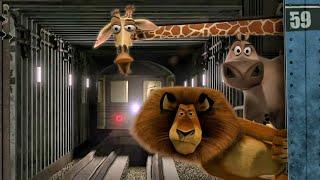 Мадагаскар 2005 Алекс Марти Глория и Мелман в метро Плохая киса