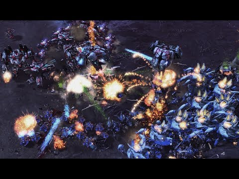 soO (Z) vs TY (T) on Nightshade - StarCraft 2 - Legacy of the Void 2020
