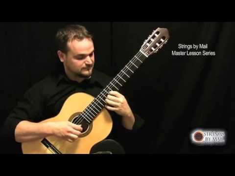 Fluid Approach To Fast Scales I - Strings By Mail Lessonette | Matt Palmer