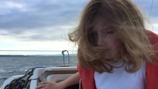 2016 june 25 sailing Yamaha 25 from Port Choiseul to Vidy