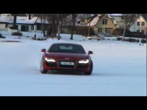 ACE Competition AUDI R8 V10 on ice - Sweden