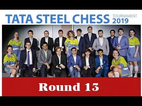 🔴 Tata Steel Chess 2019 Round 13 | GM Robert Hess & IM Sopiko Guramishvil