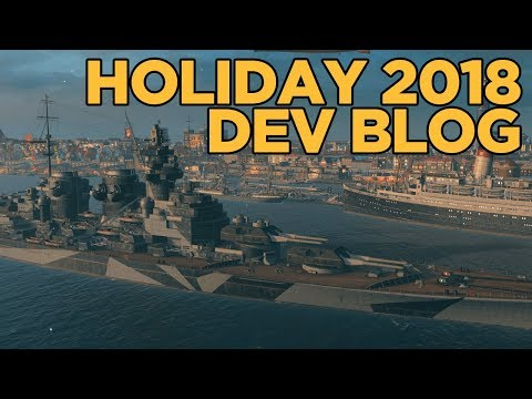 Developer Blog for December - World of Warships