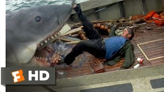 Quint Is Devoured - Jaws (9/10) Movie CL...