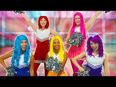 THE SUPER POPS CHEERLEADER TEAM. (Season 2 Episode 1 Part 1) Totally TV Videos For Teens.