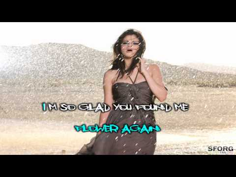 Selena Gomez A Year Without Rain Karaoke (HD)