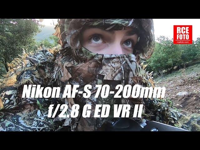 Nikon AF-S 70-200mm f/2.8 G ED VR II