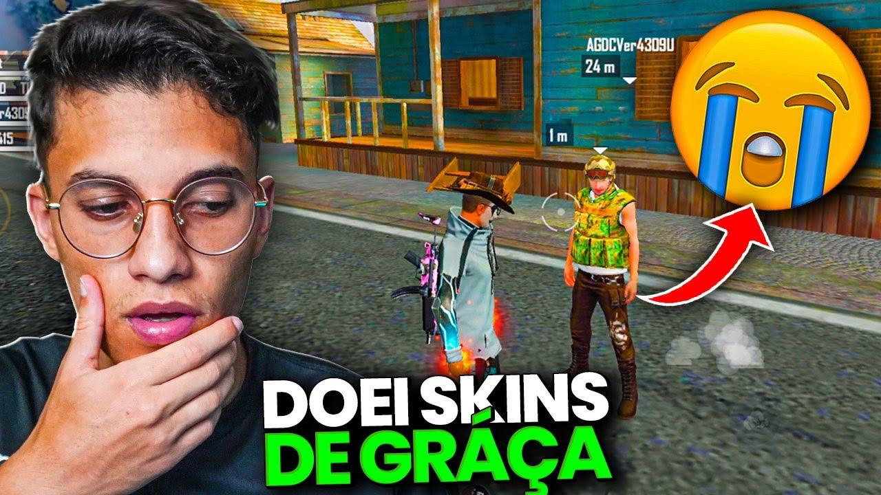 DOANDO CODIGUIN PARA DESCONHECIDOS! FREE FIRE
