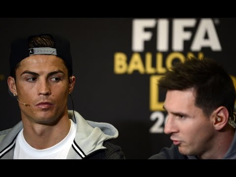 Ballon d'Or 2016 Messi vs Ronaldo Argument On Stage!*