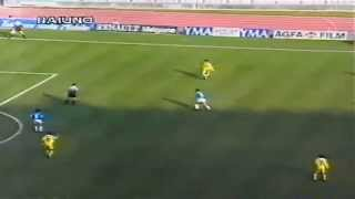 Serie A 1996-1997, day 18 Napoli - Parma 2-1 (Pecchia, Chiesa, A.Cruz)