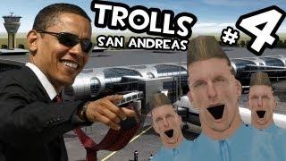Trolls en San Andreas | A OBAMA NO LE GUSTA QUE LE REPORTEN