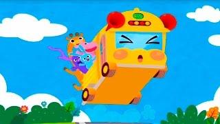 Мультики для детей - Детская песенка про автобус. Развивающие мультики для детей. Мультик песня.