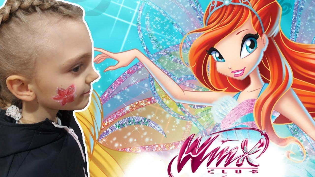 Влог. Винкс раскраска для детей. Раскраска онлайн. Видео ...