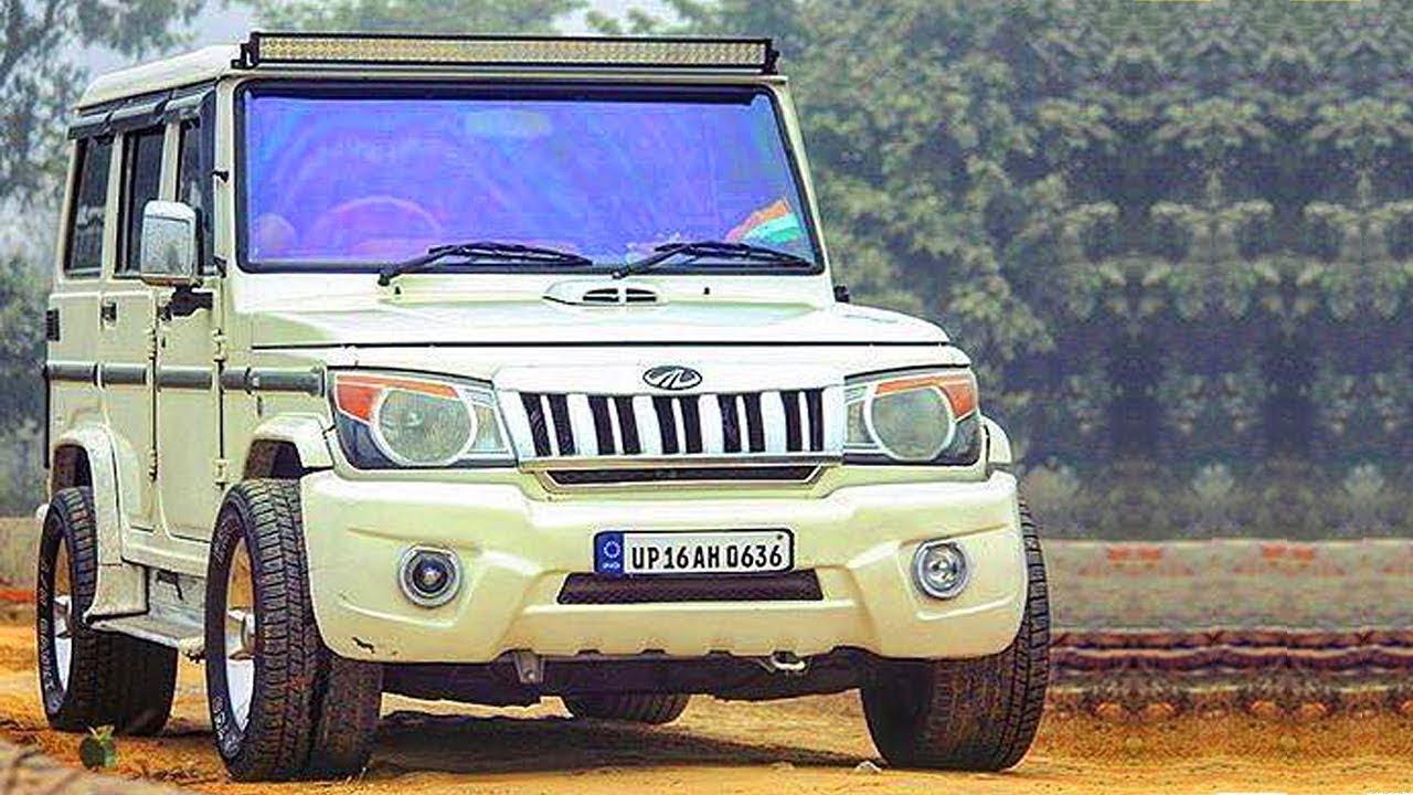 India's best modified SUVs |Mahindra Bolero Sportz Modified