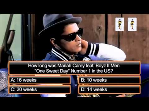 Bruno Mars - One sweet day ( Mariah Carey )