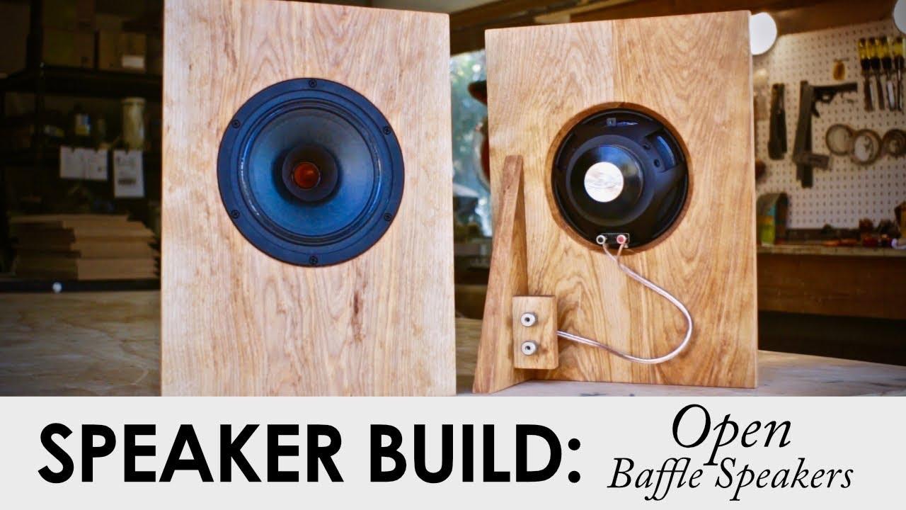 DON'T Build These Speakers    Yet! || DIY Open Baffle Speaker Build