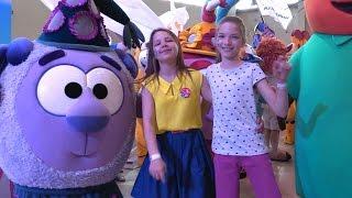 Смешарики, Маша и медведь, Барбоскины и другие - парад кукол из мультфильмов и лучшие подружки!