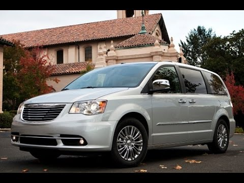 2015 Chrysler Town and Country Start Up and Review 36 L V6  YouTube