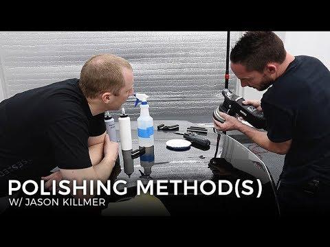 Wet Sanding & Advanced Polishing: E3 - Machine Polishing Method