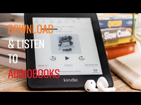 How to Download and Listen to Audiobooks On Kindle Paperwhite