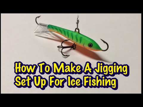 How To Make A Jigging Set Up For Ice Fishing